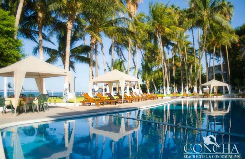Outdoor pool at La Concha Beach Resort.