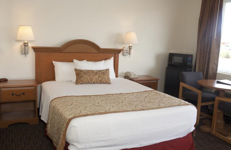 Guest room at St. George Inn & Suites.