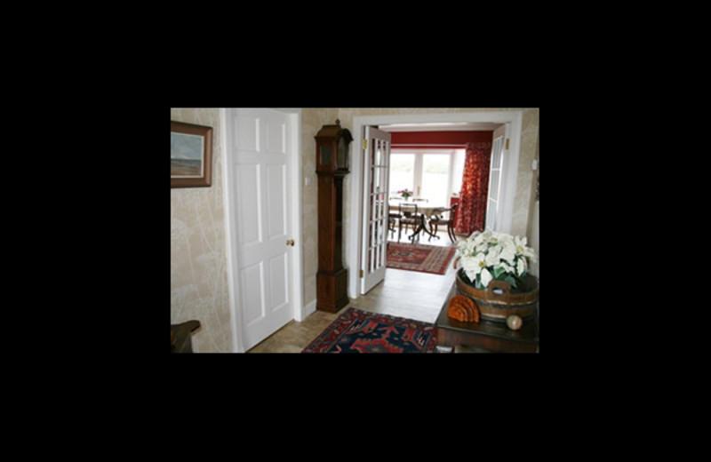 Guest room at Eaglescairnie Mains Farm.