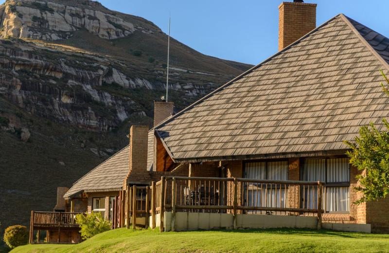 Exterior view of Kiara Lodge.