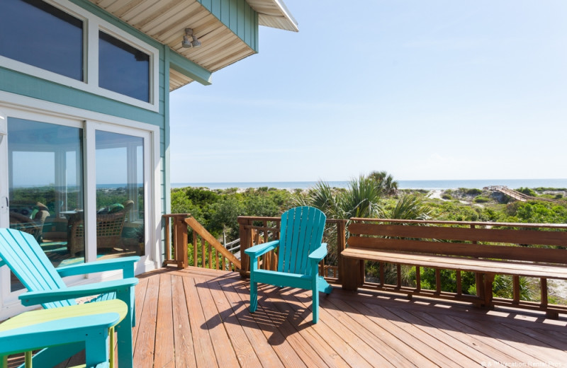 Rental balcony at Vacation Rental Pros - St. Augustine.