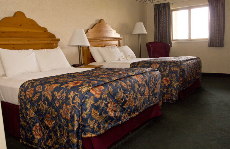 Two bed guest room at Bavarian Inn of Frankenmuth.