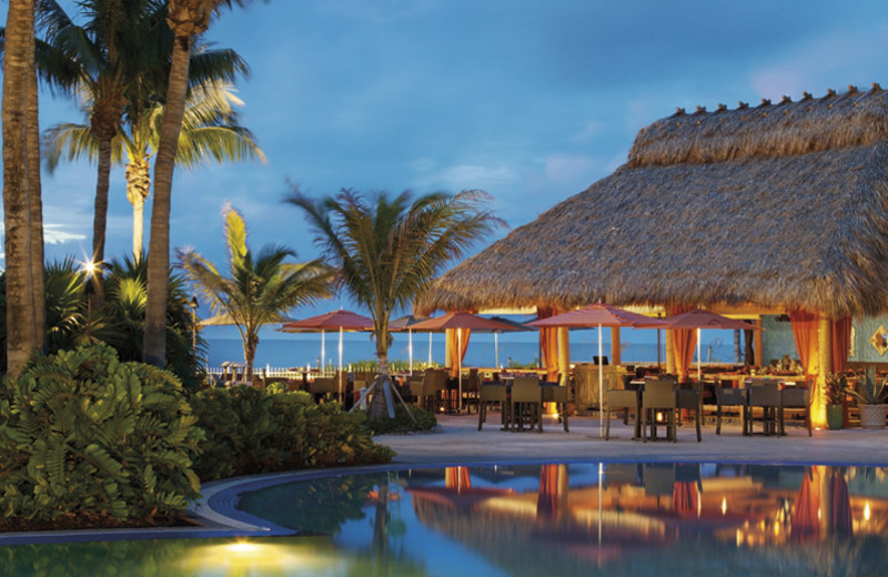 Outdoor dining at The Ritz-Carlton, Key Biscayne.
