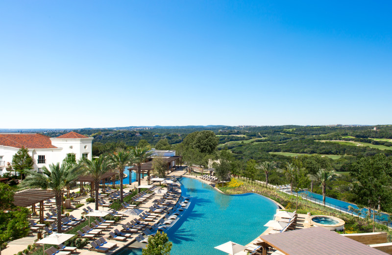Outdoor pool at La Cantera Resort & Spa.