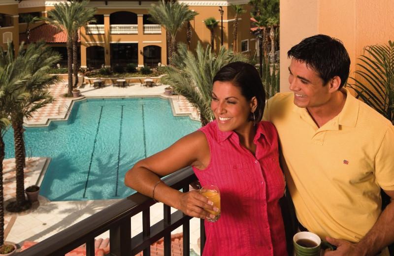 Suite balcony at Floridays Resort Orlando.