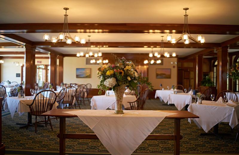 Dining at Black Point Inn.