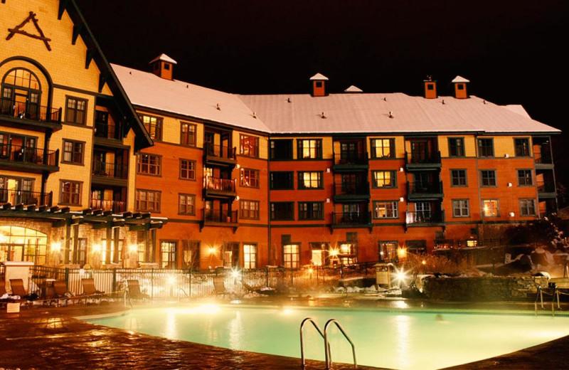 Exterior view of Mountain Creek Resort.