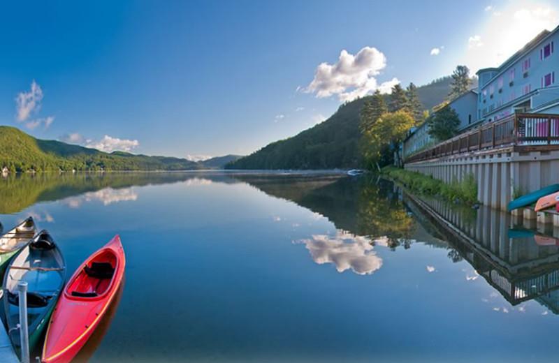 Lake view at Lake Morey Resort.