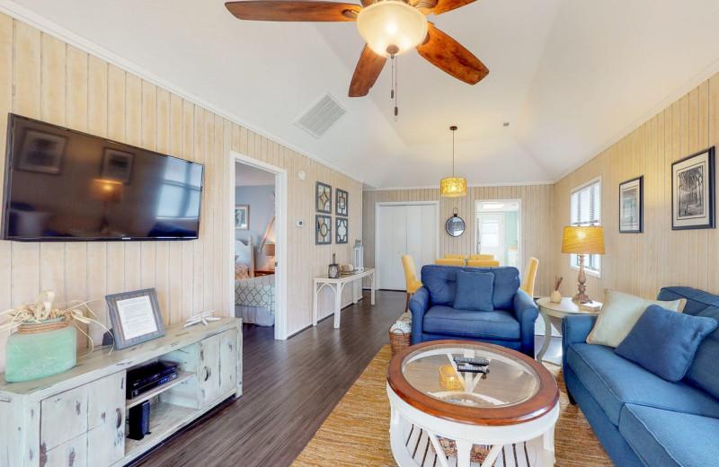 Rental living room at Affordable Vacation Rentals, LLC.
