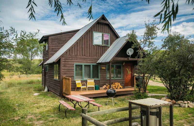 Cabin at The Glen Eden Resort.
