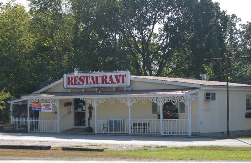 Nearby restaurant at The Village At Indian Point.