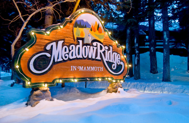 Welcome to Meadow Ridge Condominiums.