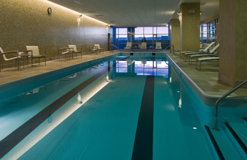 Swimming Pool at Hyatt Regency Denver at Colorado Convention Center
