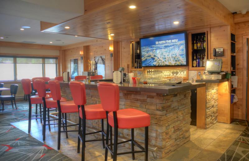 Bar near Banff Rocky Mountain Resort.