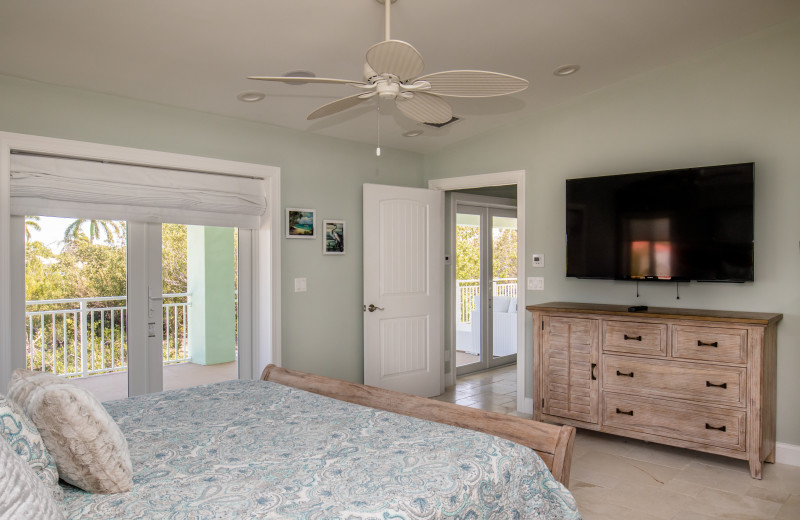 Rental bedroom at Florida Keys Vacations Inc.