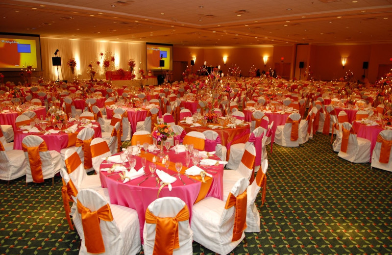 Wedding reception at The Florida Hotel and Conference Center.