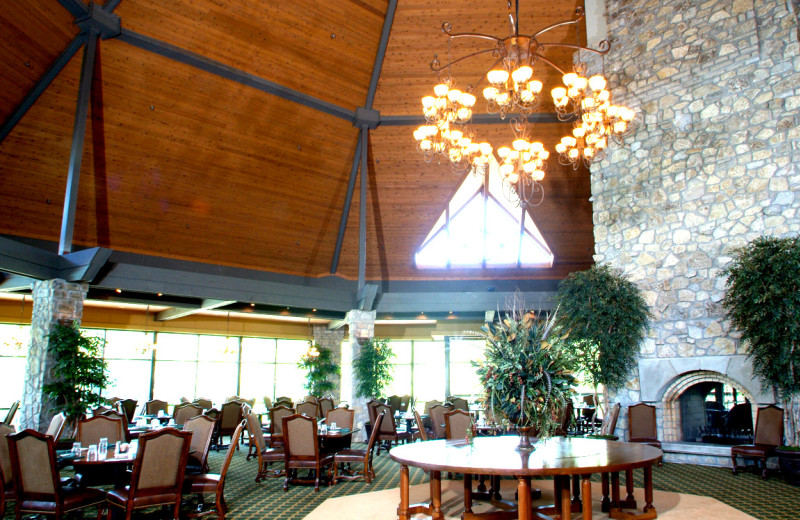 Dining room at Stonebridge Resort.