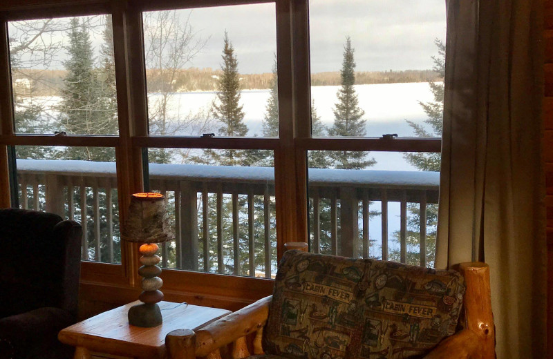 Cabin view at Timber Trail Lodge & Resort.
