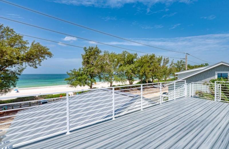 Rental deck at Anna Maria Island Beach Rentals, Inc.