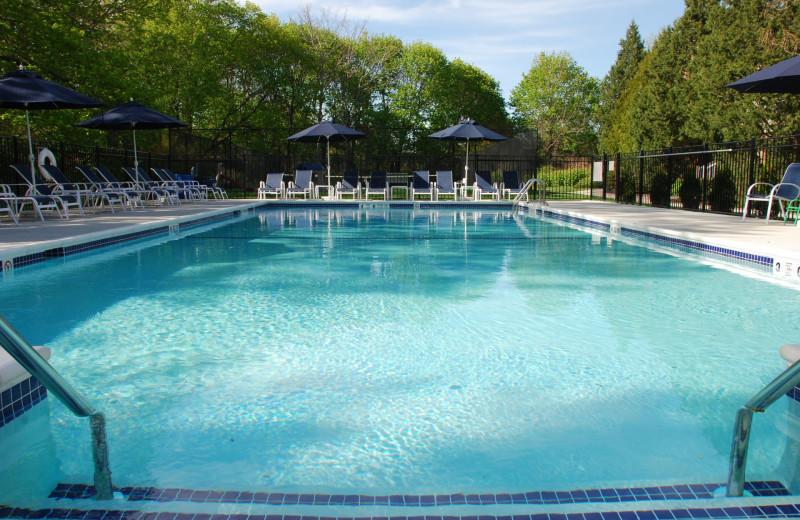 Outdoor pool at Southampton Inn.