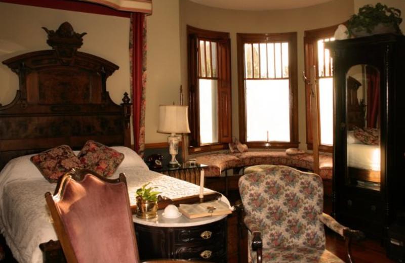 Guest room at Grandison at Maney Park.