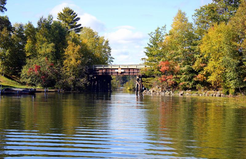 Lake view at Nitschke's Northern Resort.