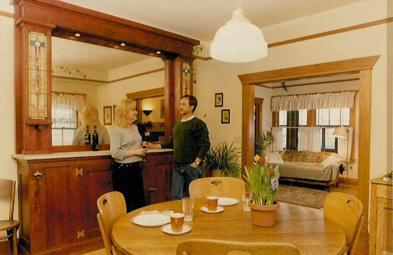 Kitchen at The Lodge.