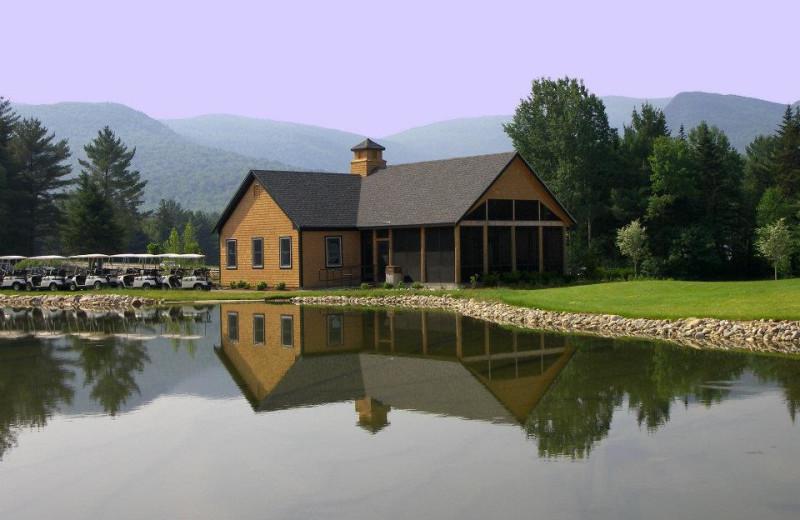 Golf club at Waterville Valley Resort.