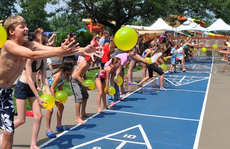 Group games at Rocking Horse Ranch Resort.