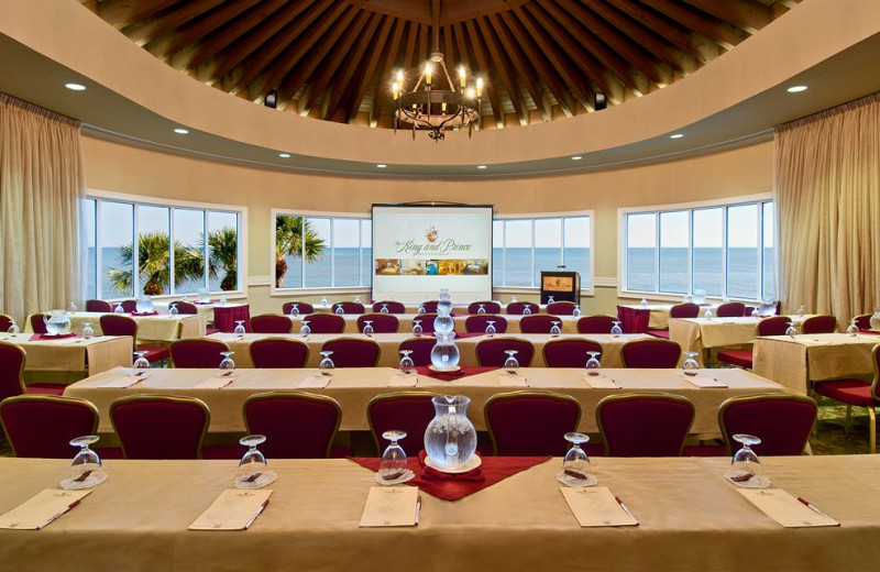 Meetings at The King and Prince Beach & Golf Resort.