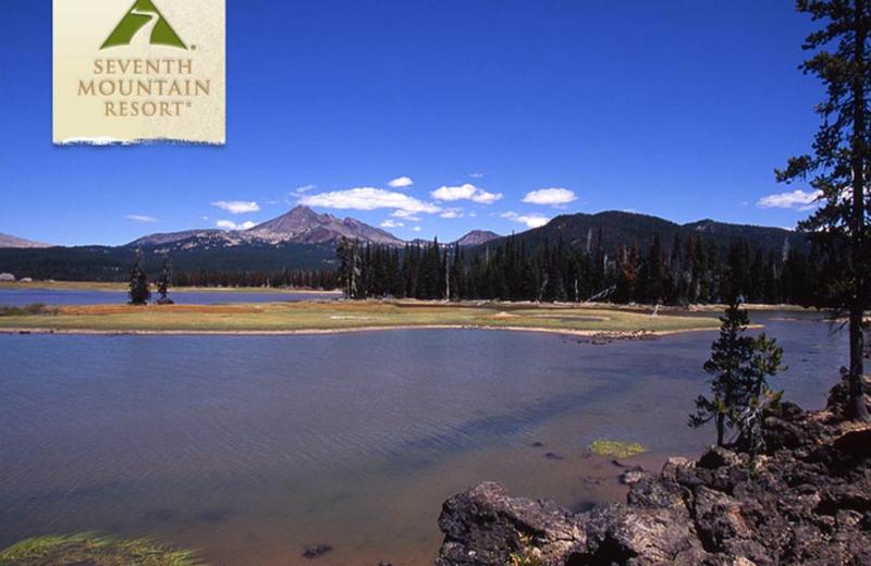 Beautiful Lake Views at Seventh Mountain Resort