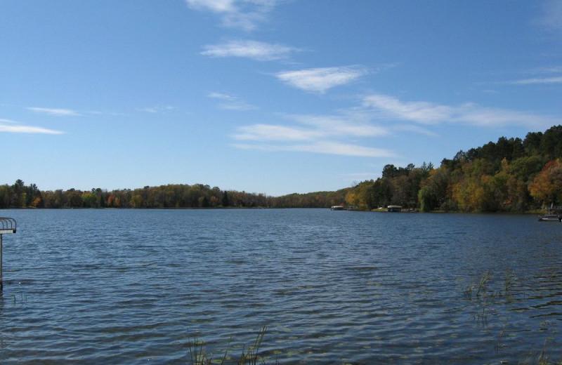 Lake view at Wilderness Resort Villas.