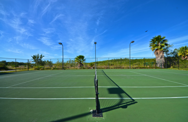 Tennis court at Sunrise Suites Resort.