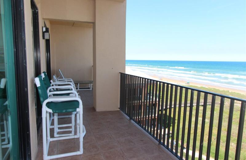 Rental balcony at Seabreeze I.