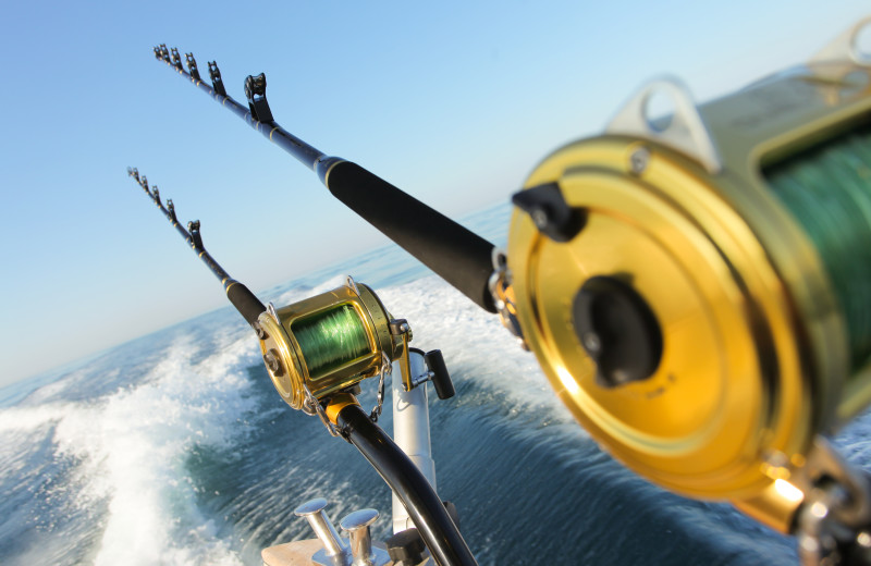 Ocean fishing at Gulf Shores Rentals.