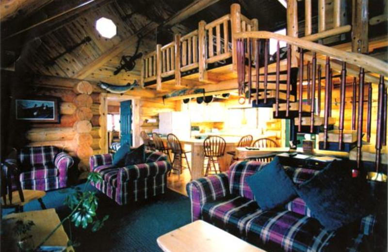 Interior view of Voyageurs Landing Resort.