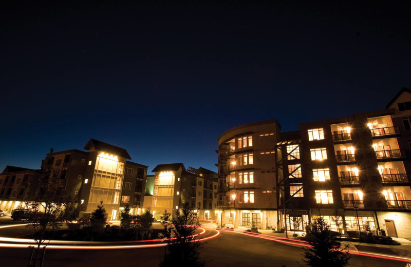 Exterior view of Silver Mountain Resort.