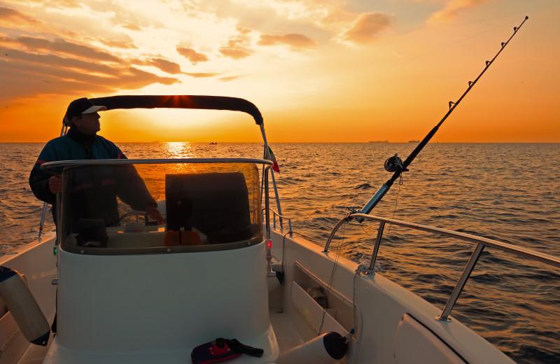 Fishing at Adobe Resort.