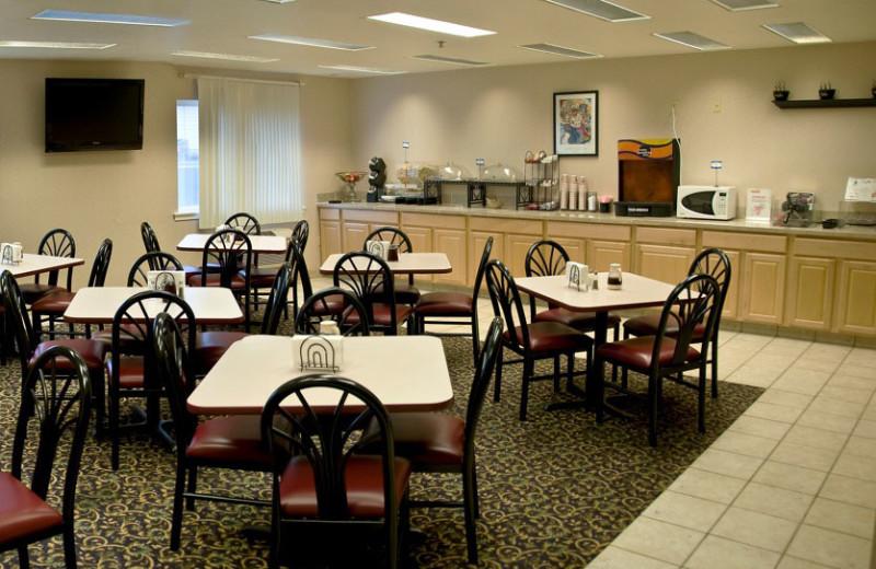 Dining area at The Garibaldi House Inn.