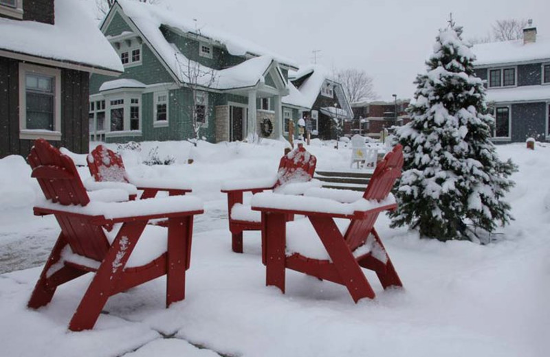 Winter time at Crystal Mountain Resort and Spa.