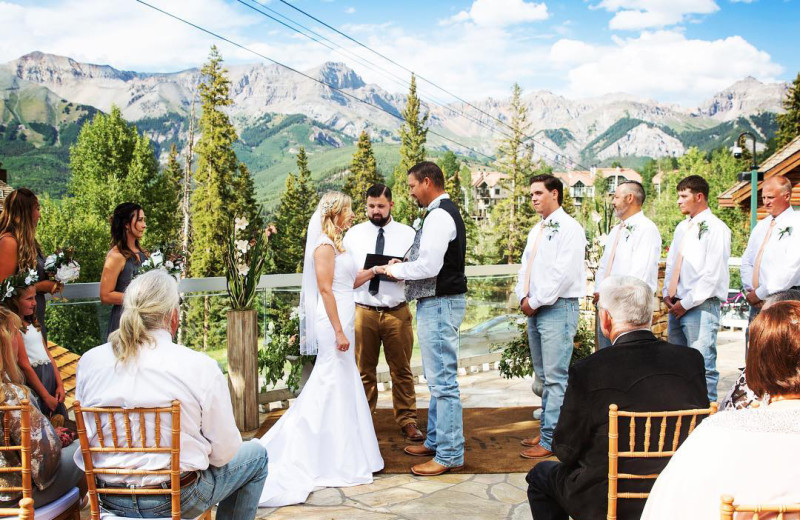 Weddings at Mountain Lodge Telluride.