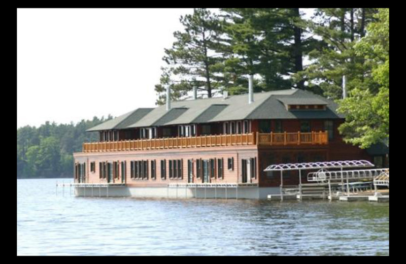 Lake view at Chippewa Retreat Resort.