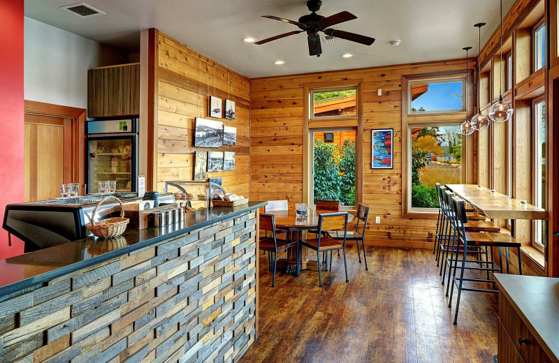 Coffee shop at Snug Harbor Marina Resort.