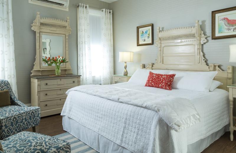 Guest room at Carroll Villa.