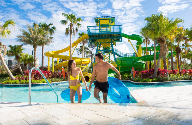 Water park at The Grove Resort & Spa.