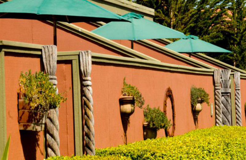 Exterior view of Sonoma Coast Villa & Spa Resort.