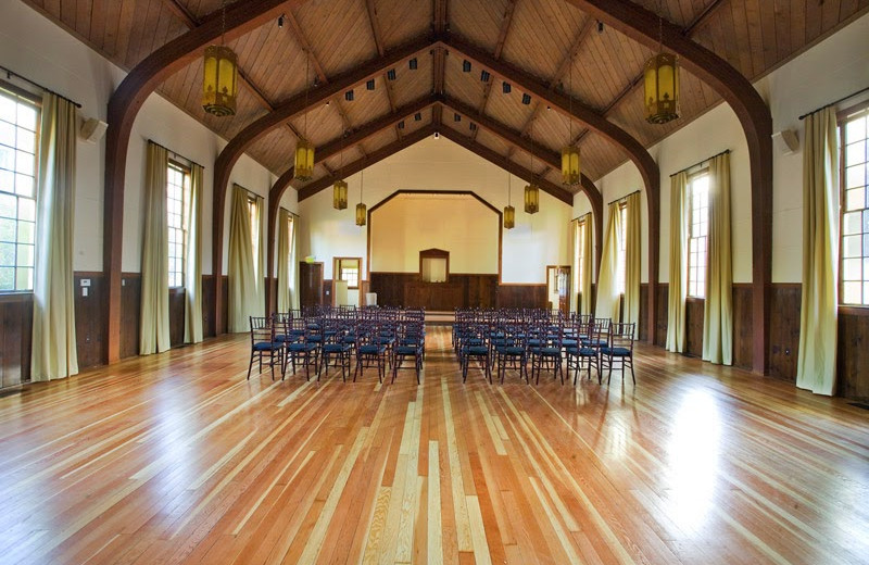 Ballroom at Cavallo Point Lodge.