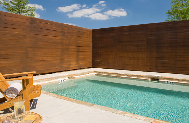 Hot tub at Hyatt Regency Lost Pines Resort and Spa.