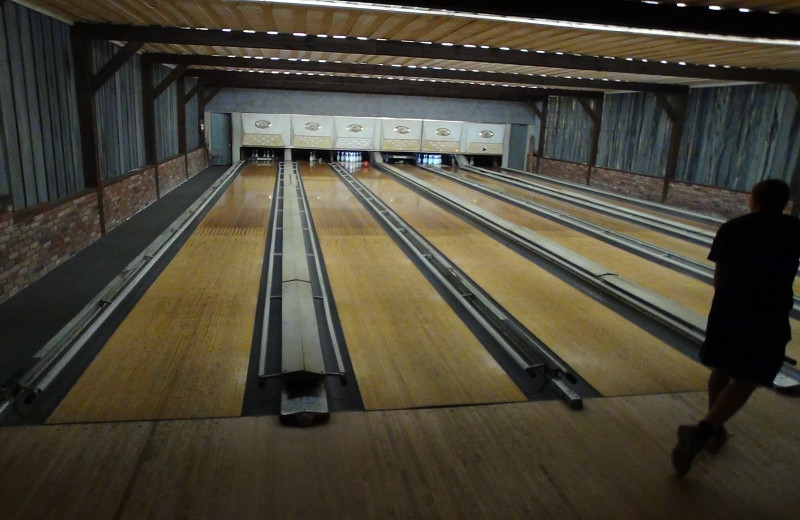 Bowling alley at Winter Clove Inn.