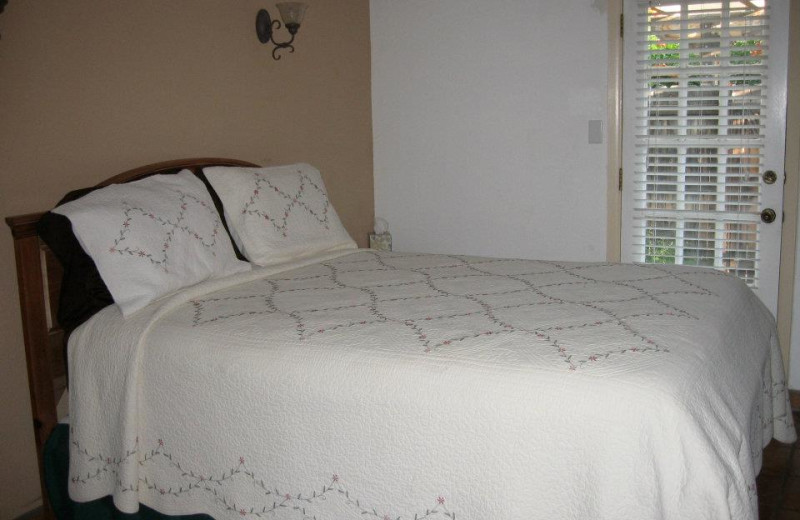 Bedroom at Sarabande Bed & Breakfast.